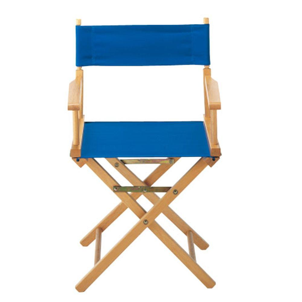 Casual Home Royal Blue Directoru0027s Chair Cover