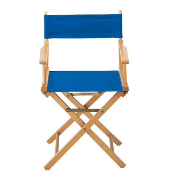 Wondrous Royal Blue Directors Chair Cover 021 13 The Home Depot Caraccident5 Cool Chair Designs And Ideas Caraccident5Info