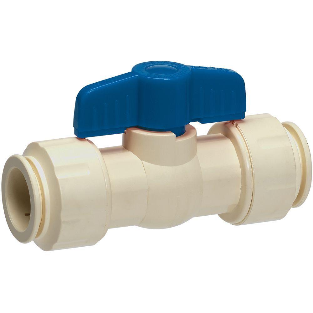 Gripwerks in cpvc push fit ball valve