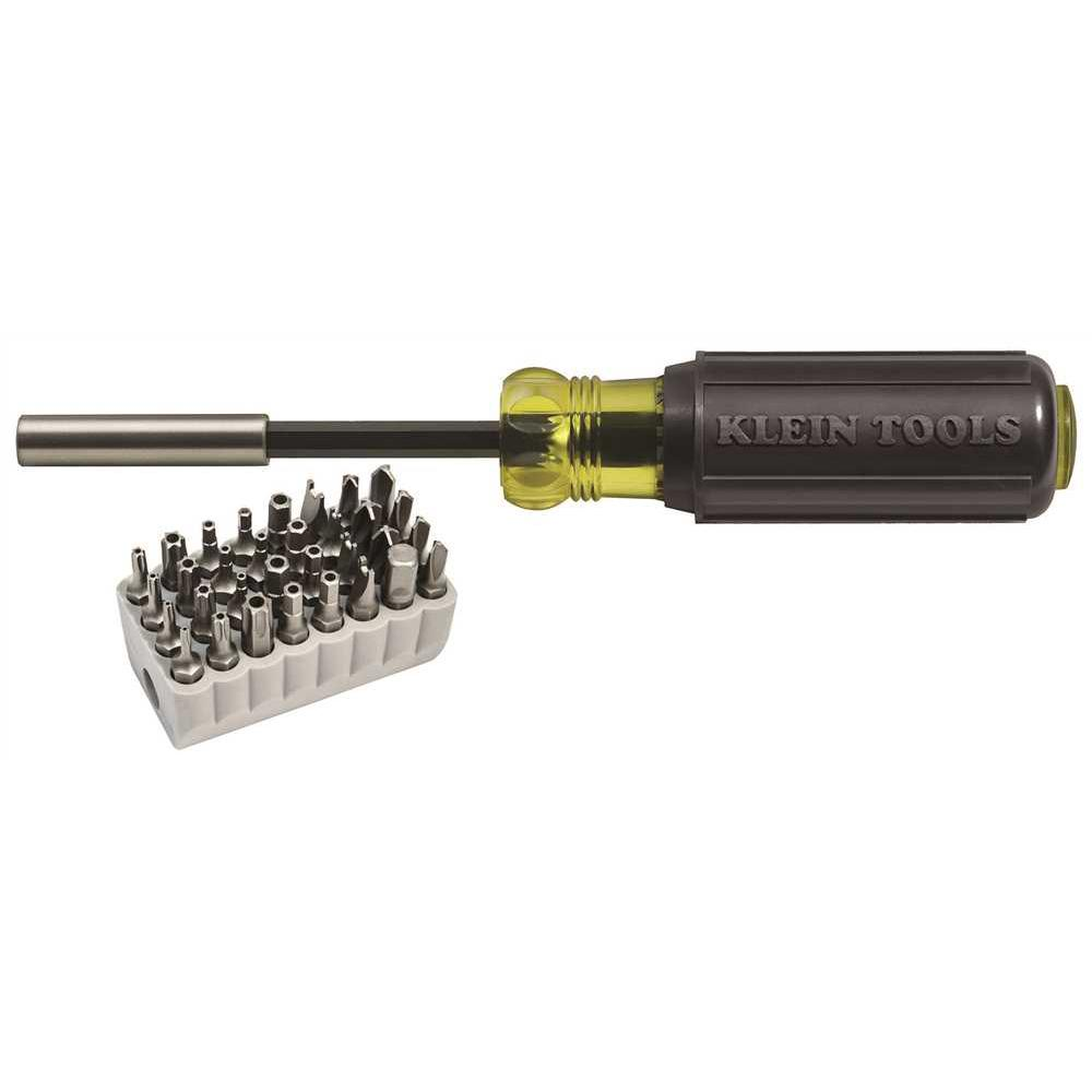 Magnetic Screwdriver with Bit Set (32-Piece)