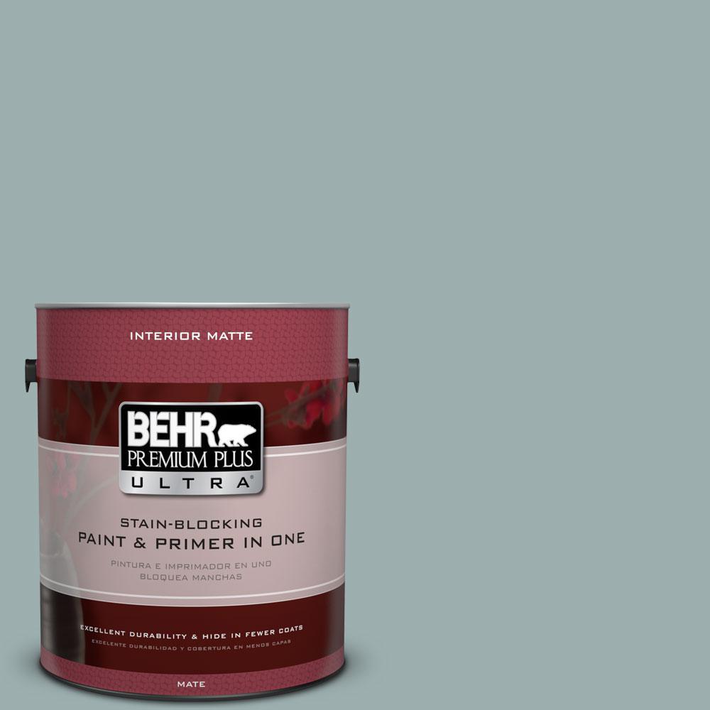 BEHR Premium Plus Ultra 1 gal. #PPF-36 Veranda Charm Flat/Matte Interior Paint