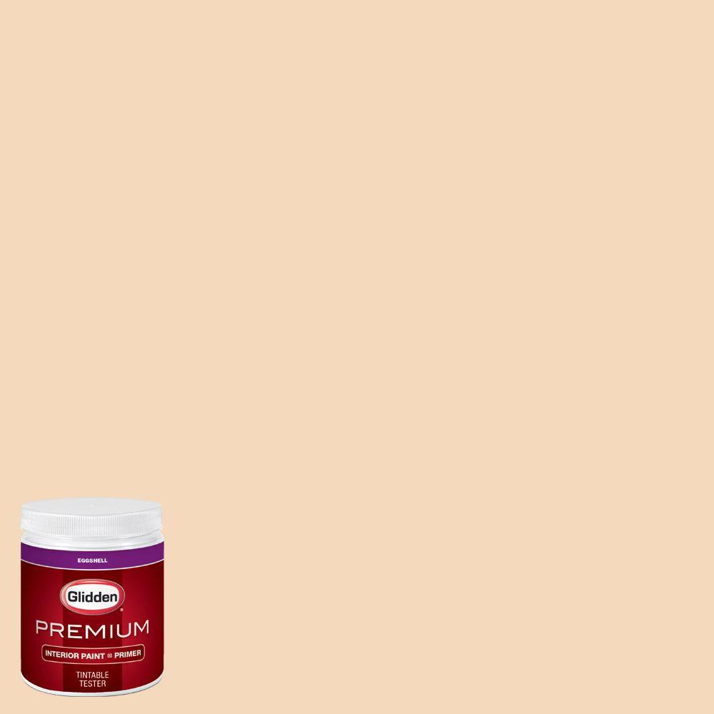 Glidden Premium 8 Oz Hdgo30d Peachlight Eggshell Interior Paint Sample With Primer Hdgo30dp
