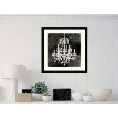 26 in. x 26 in. Outer Size 'Chandelier II' by Oliver Jeffries Framed Art Print