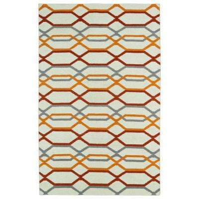 Glam Ivory 5 ft. x 8 ft. Area Rug