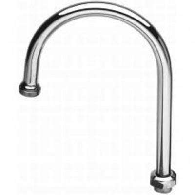 Swivel 10 in. Spout in Polished Chrome