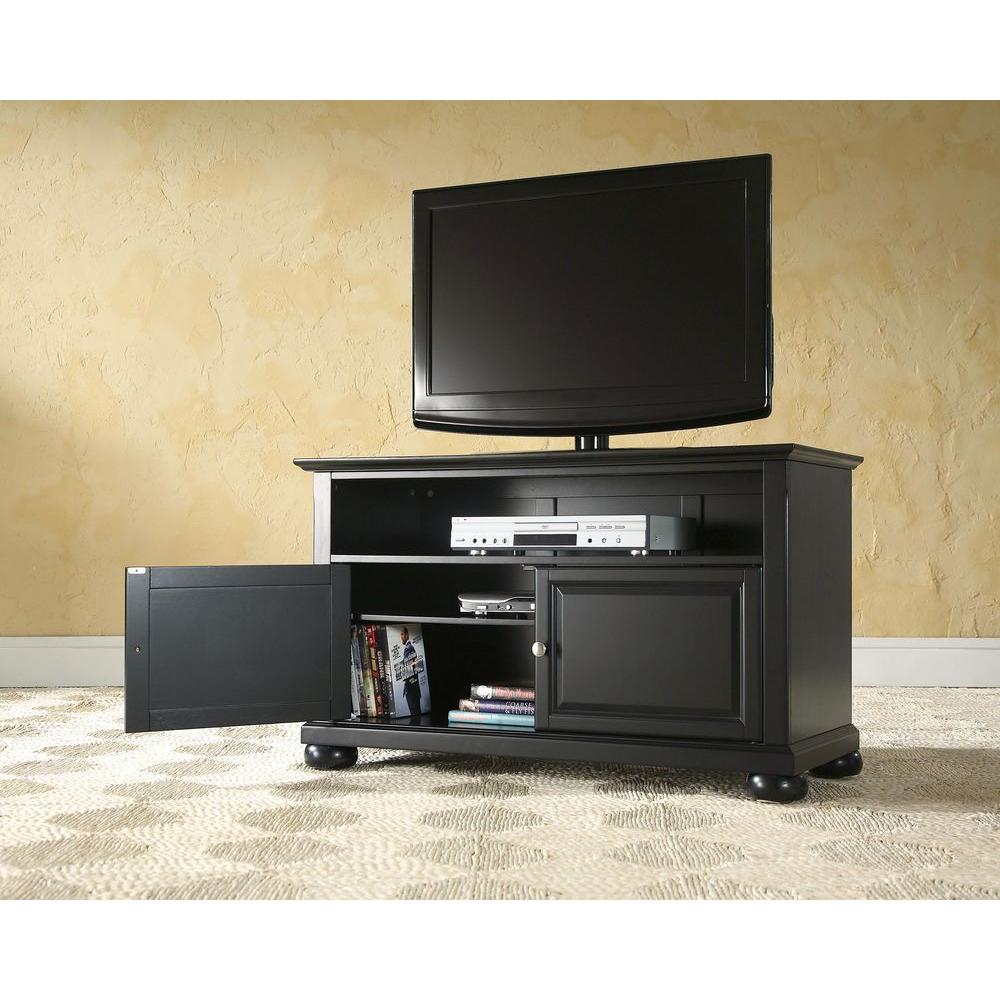 Crosley Alexandria Cherry Entertainment Center Kf10003ach The Home