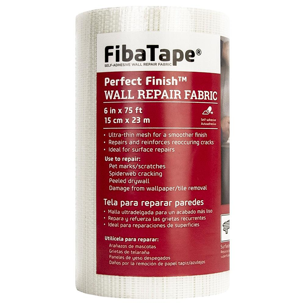 FibaTape 6 in. x 75 ft. Perfect Finish Wall Repair Fabric