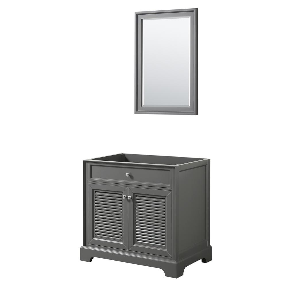 Tamara 36.5 in. Single Bathroom Vanity Cabinet Only with 24 in.