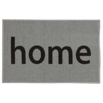 Doormat Collection Rectangular Light Grey Home 20 in. x 30 in. Door Mat