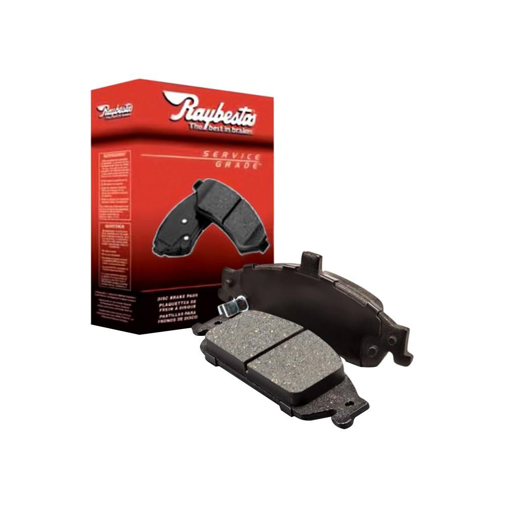 Disc Brake Pad Set-Service Grade; Ceramic Front Raybestos SGD867C