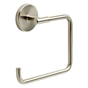 Lyndall Towel Ring in Brushed Nickel