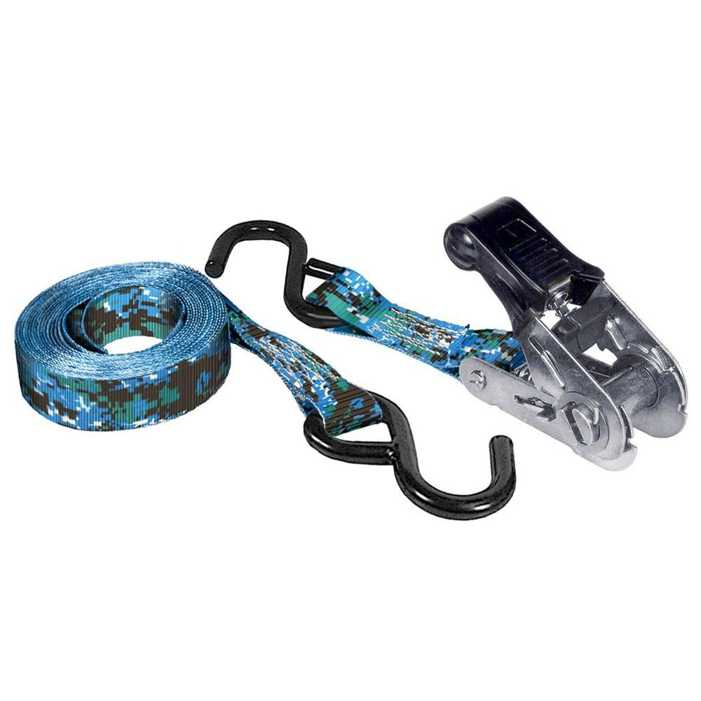 Keeper 12 ft. x 1 in. x 500 lbs. Naval Digital Camo Ratchet
