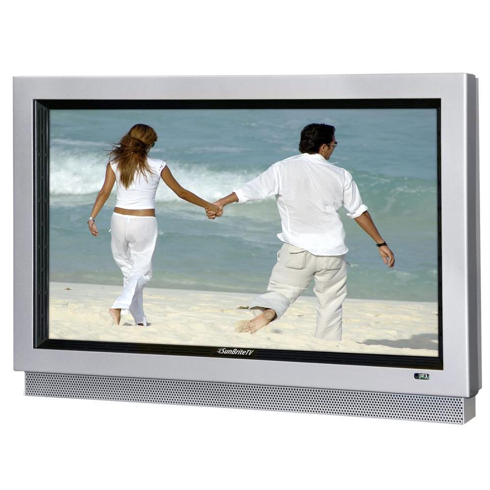 SunBriteTV Pro Series Weatherproof 32 in. Class LCD 720P 60Hz Outdoor HDTV - Silver-DISCONTINUED