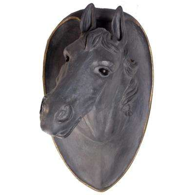 Horse Head on Plaque