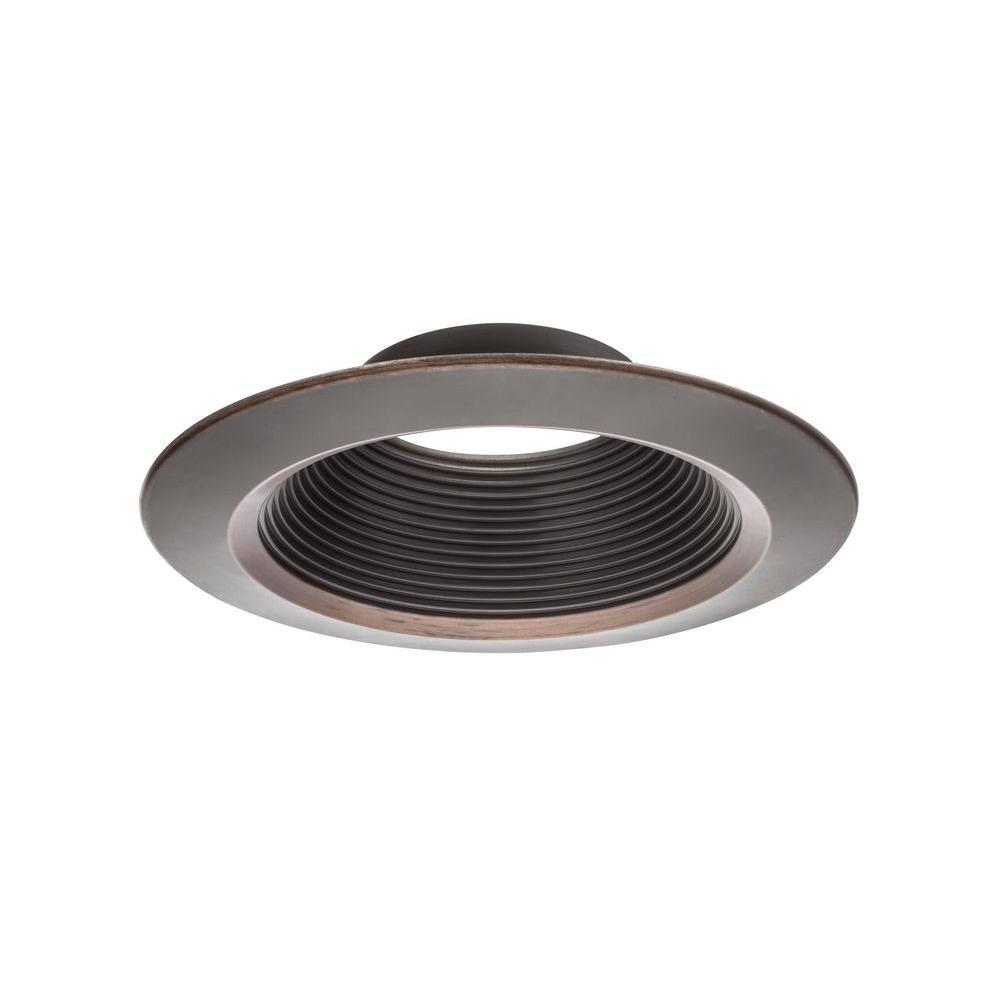 5 in. Oil Rubbed Bronze LED Downlighting Trim
