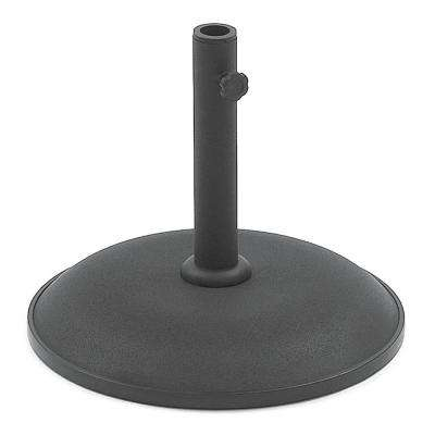 33lb Black Metal Patio Umbrella Base