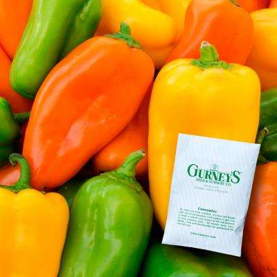 Sweet Pepper Yum Yums Hybrid Mixed Mini Bells Seed (15-Pack)