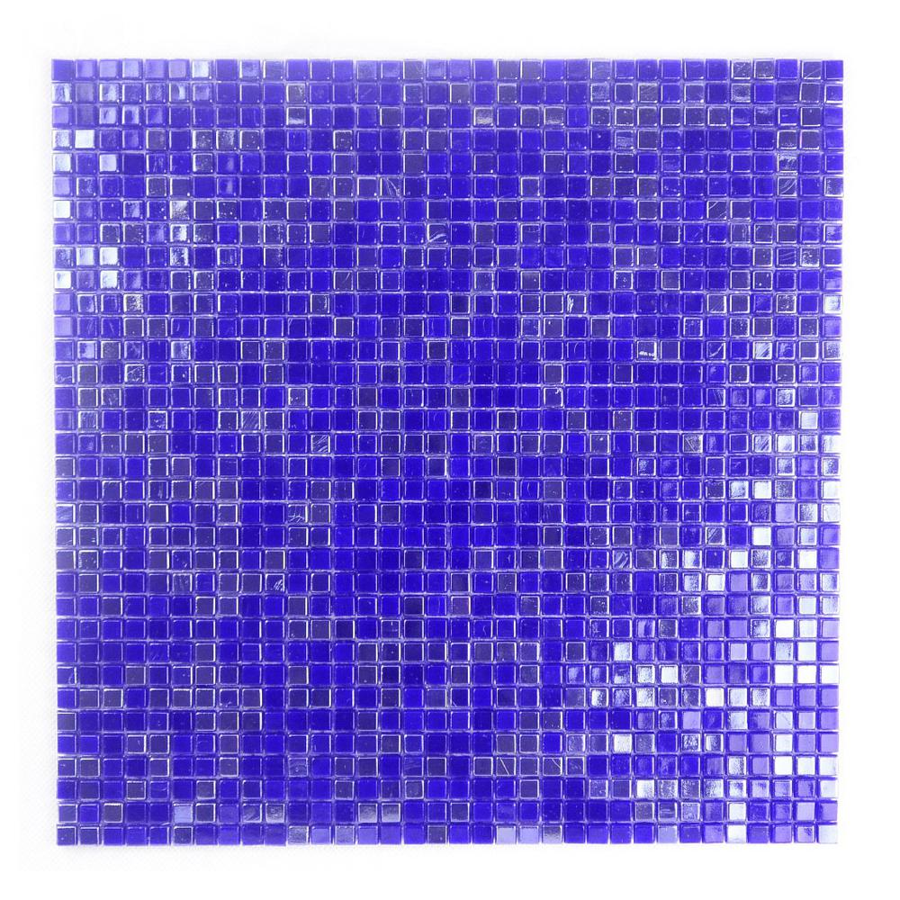 Constellation Purple Blue 11.7 in. x 11.7 in. x 3.20 mm