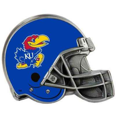 Kansas Jayhawks Helmet Hitch Cover