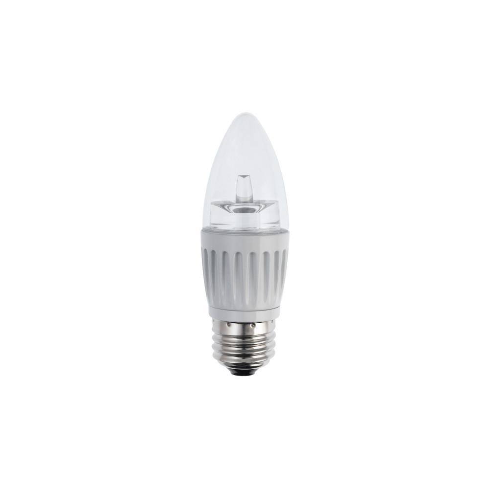 Bulbrite 40w Equivalent Warm White Light B11 Dimmable Led: Duracell 25W Equivalent Soft White B11 Dimmable LED Light