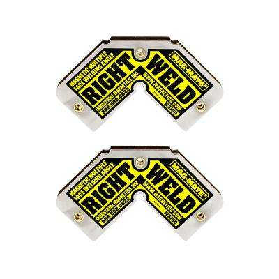 Right Weld Magnetic Square (2-Pack)