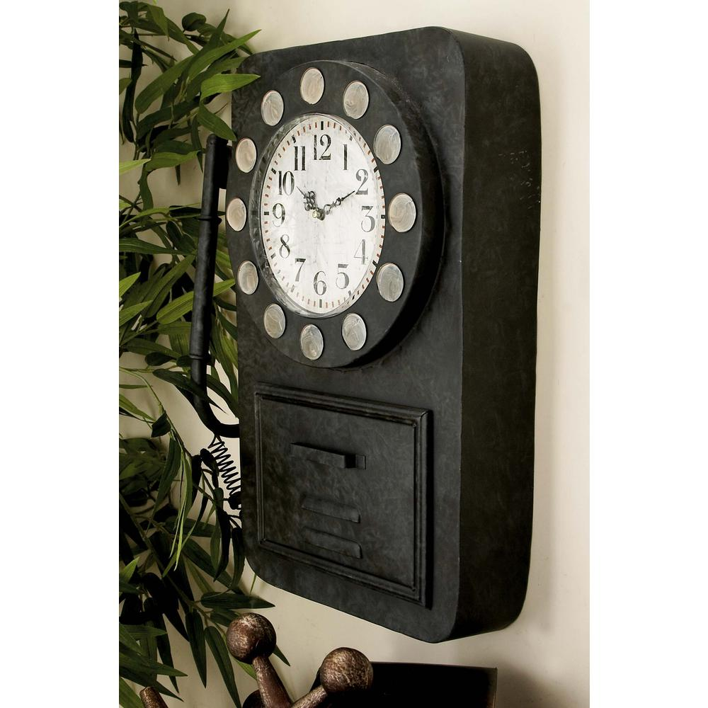 Vintage Telephone Wall Clock