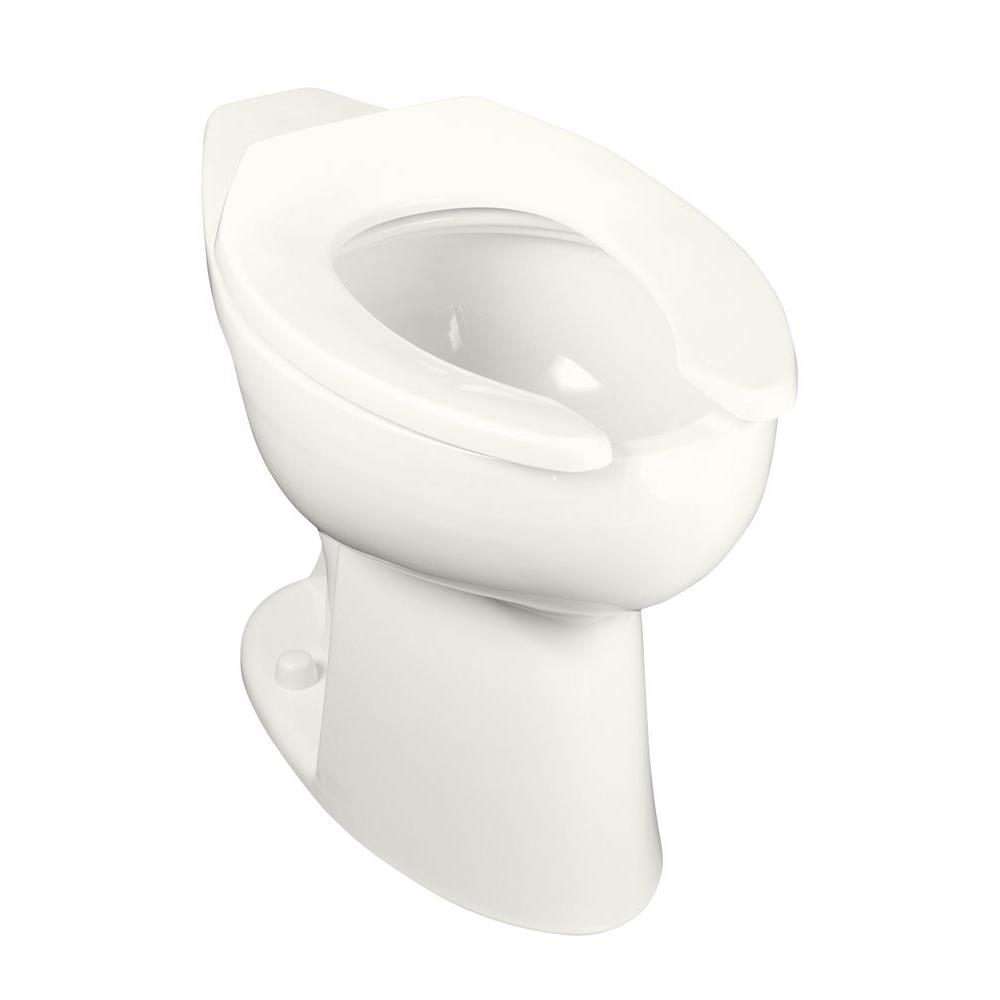 Kohler Highcliff Elongated Toilet Bowl Only In White K