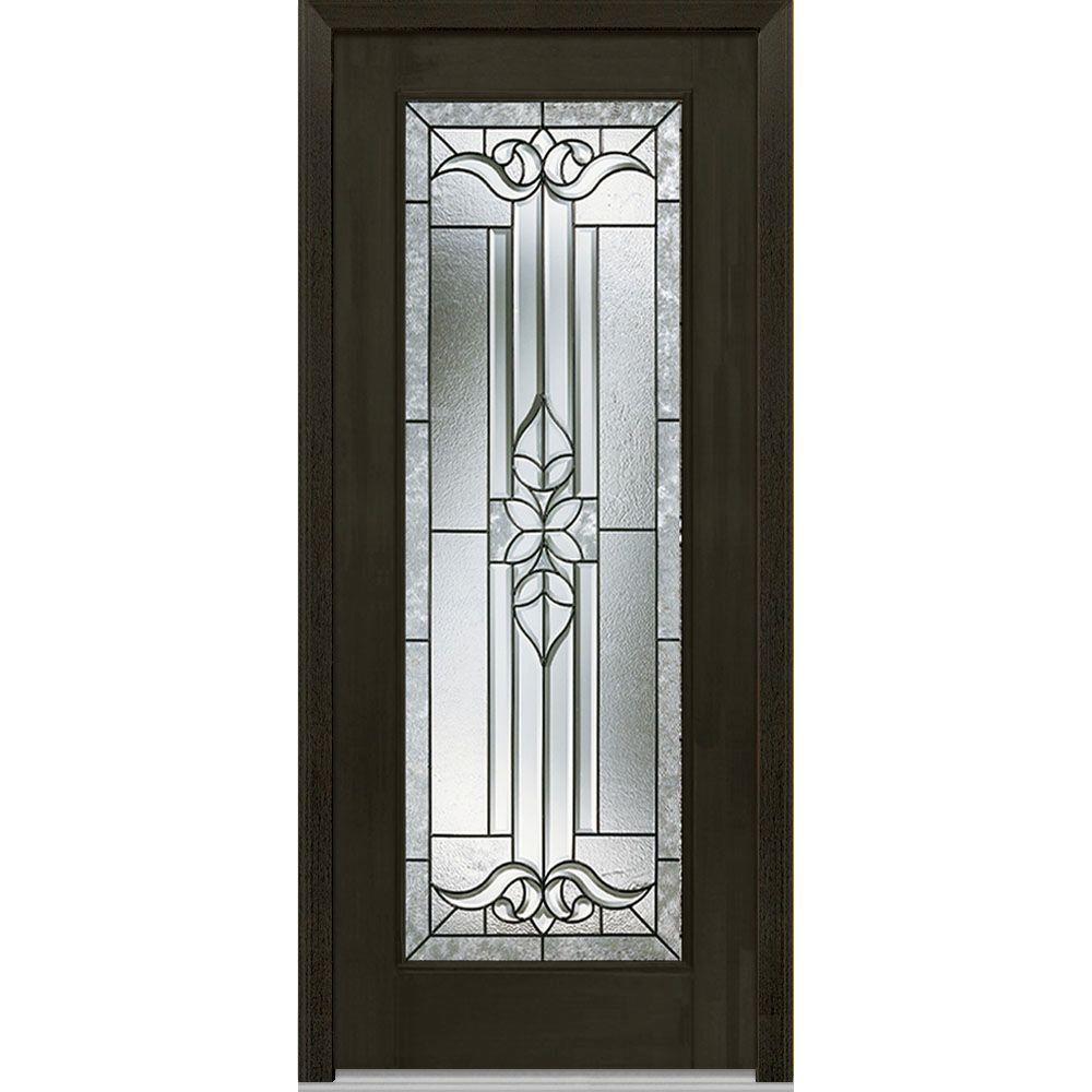 32 x 80 - Dark Brown Wood - Front Doors - Exterior Doors - The ...