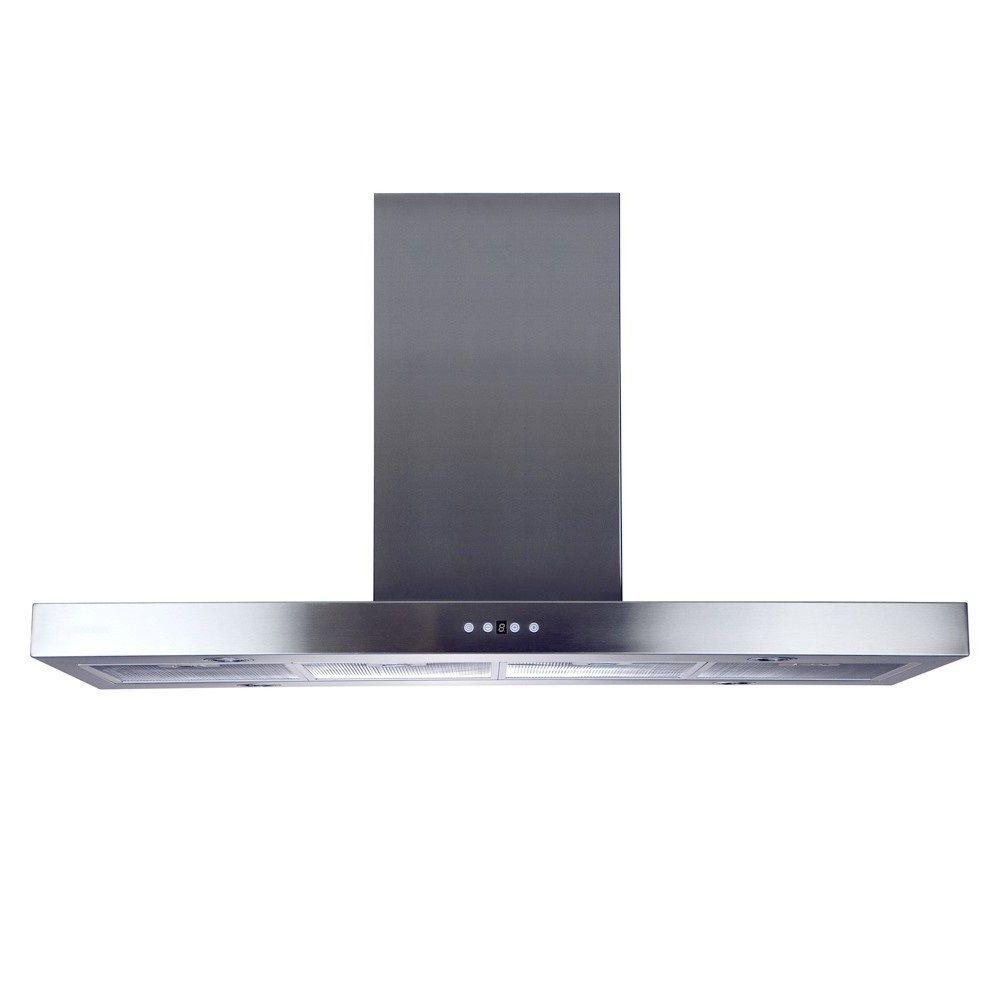 48 in. Island Mount Chimney Range Hood with 860 CFM in
