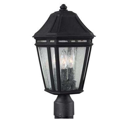 Londontowne 3-Light Black Outdoor Post Top Light