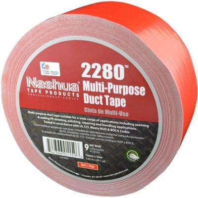 2.83 in. x 60.1 yds. 2280 Multi-Purpose Red Duct Tape