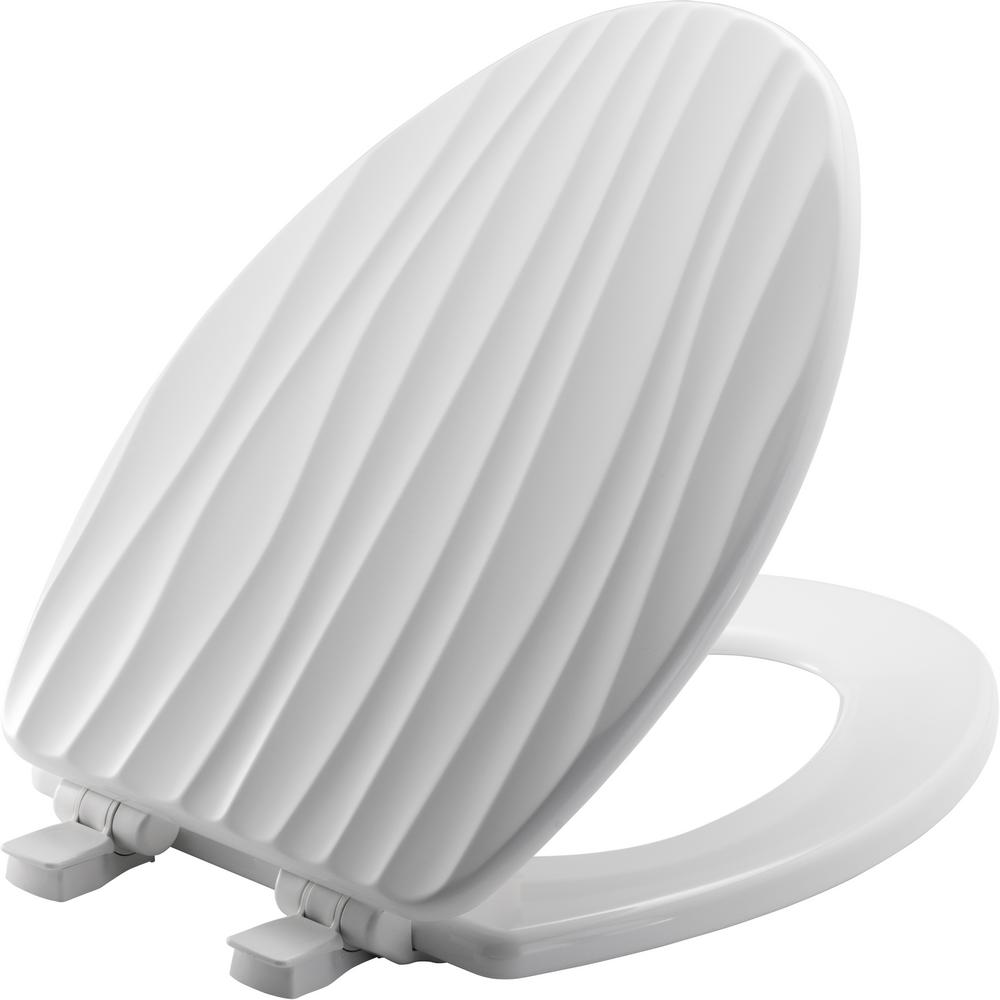 Fabulous Bemis Sta Tite Slow Close Lift Off Sculptured Elongated Closed Front Toilet Seat In White Gmtry Best Dining Table And Chair Ideas Images Gmtryco