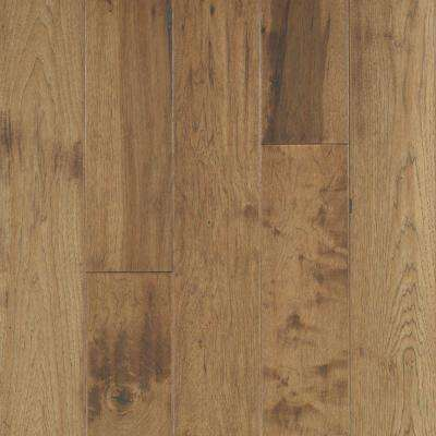 Take Home Sample - Big Sky Collection Canyon Dusk Hickory Engineered Hardwood Flooring - 5 in. x 7 in.