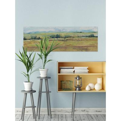 "20 in. H x 60 in. W ""Distant Treeline Panel II"" by Marmont Hill Canvas Wall Art"