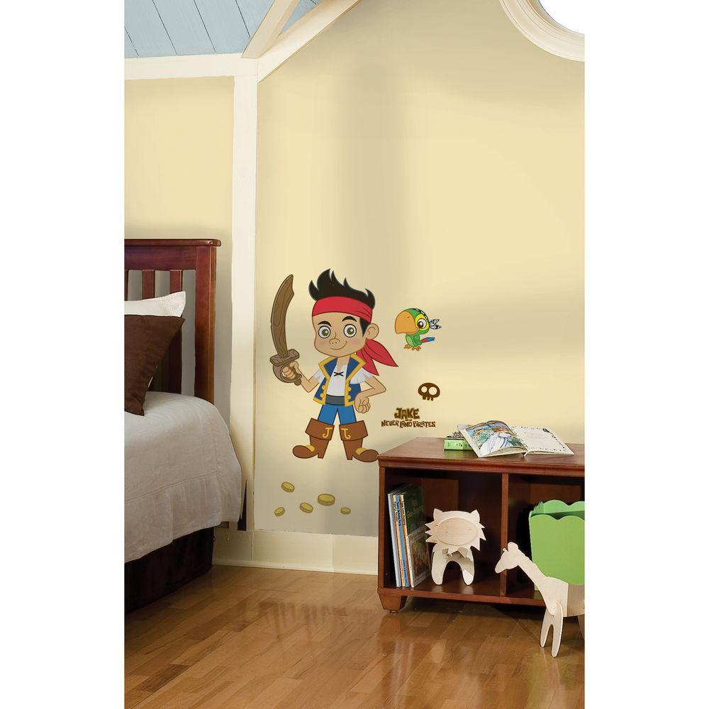 RoomMates Jake and the Neverland Pirates Peel and Stick Giant Wall Decals