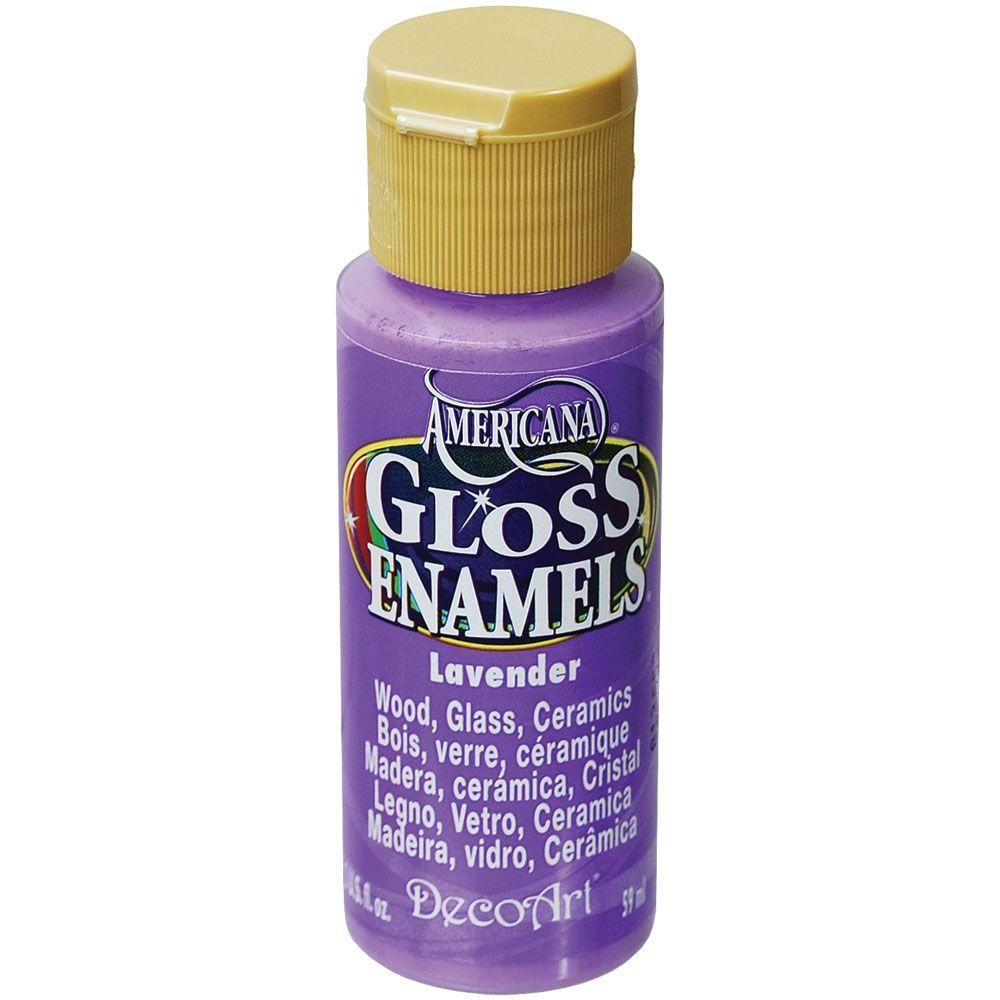 Americana 2 oz. Lavender Gloss Enamel Paint