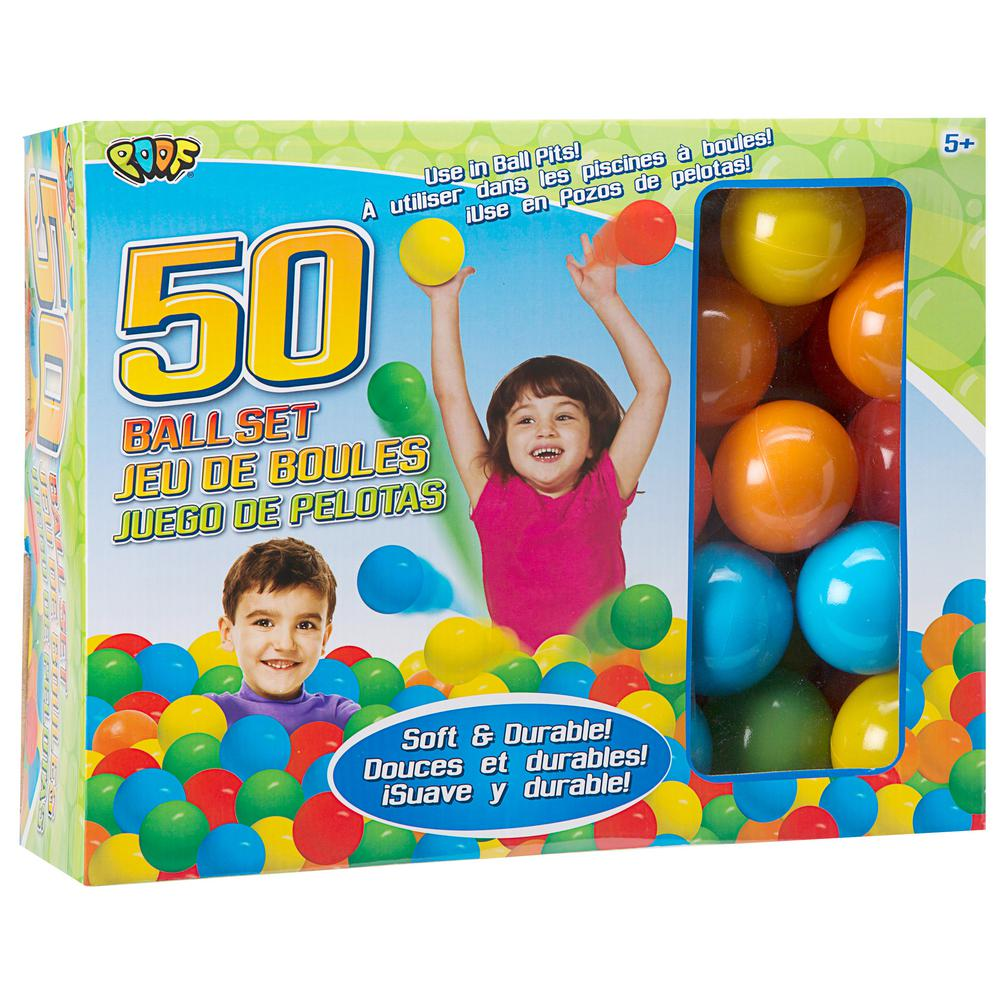 POOF-SLINKY INC. 50 Pit Ball Set, Multicolor