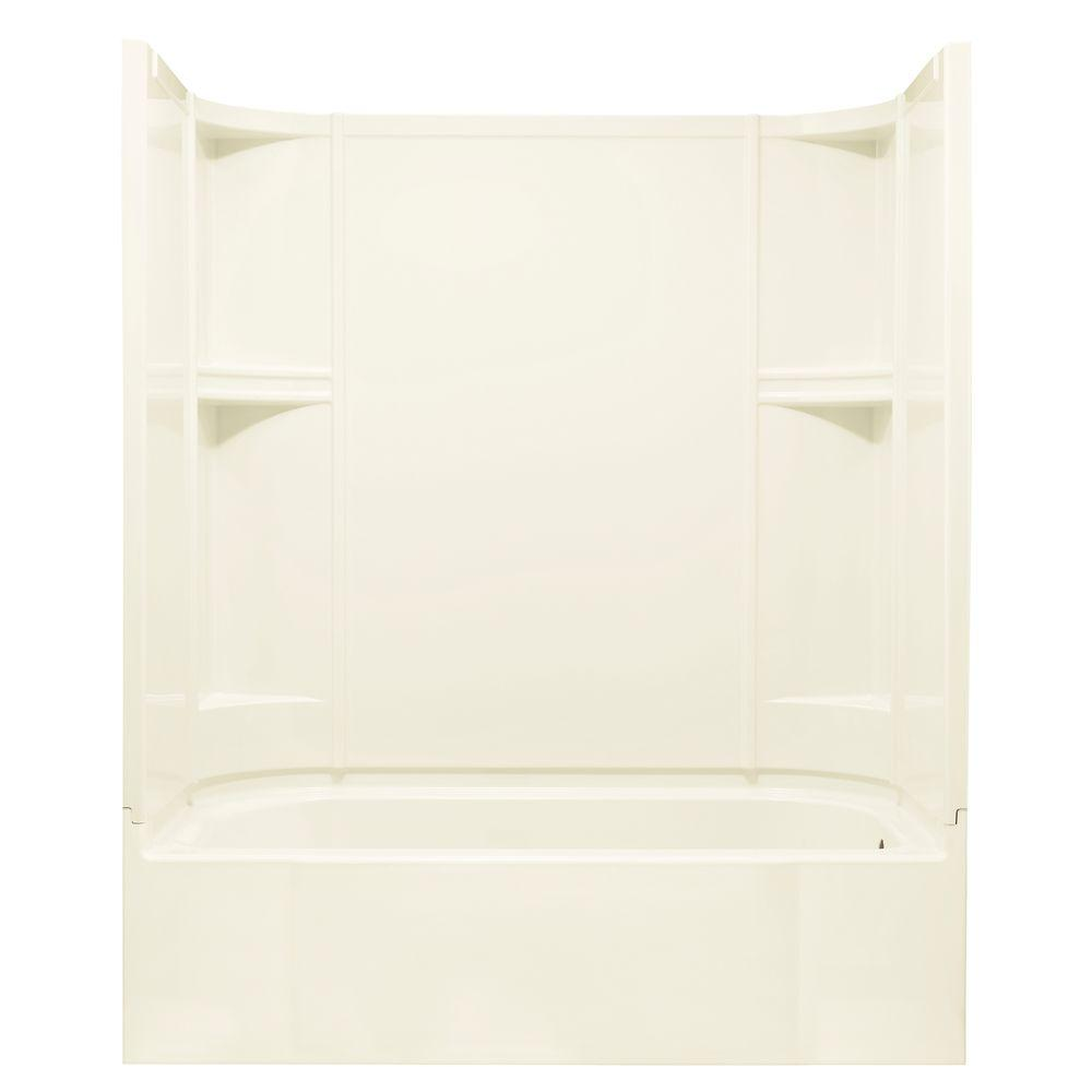 STERLING Accord 30 in. x 60 in. x 72 in. Bath and Shower Kit with ...