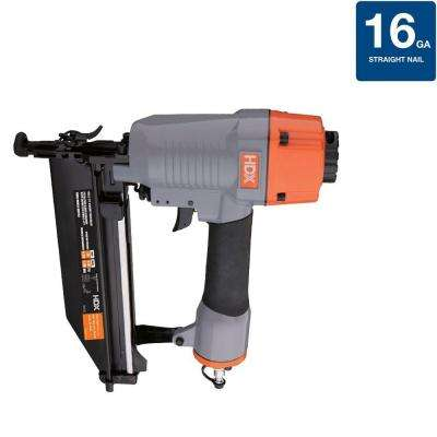 Pneumatic 16-Gauge Straight Nailer