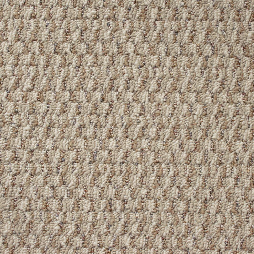 TrafficMASTER State of the Art - Color Pleasantville Textured Graphic Berber 12 ft. Carpet