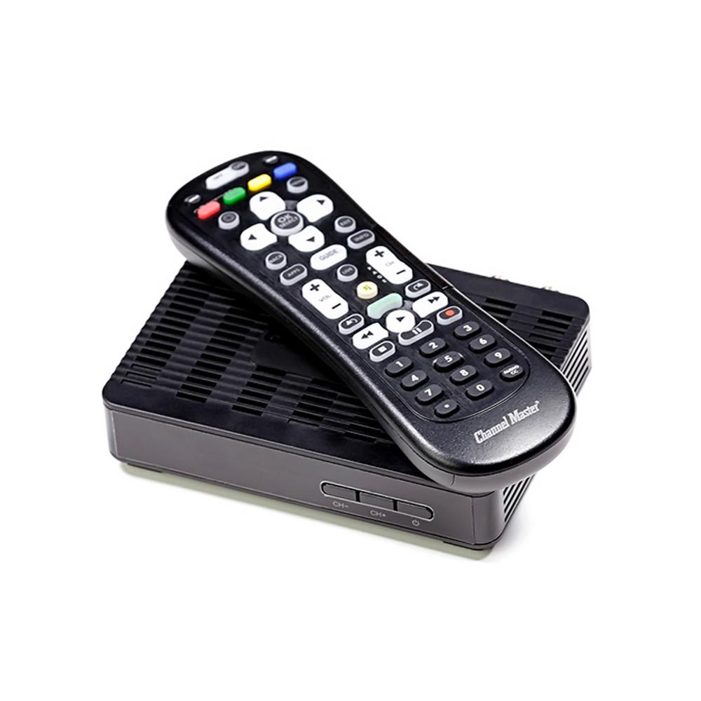 Channel Master Converter Box Digital to Analog and HD Antenna Tuner with  Grid Channel Guide and More