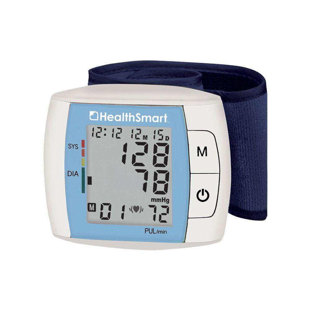 Health Smart Standard Automatic Wrist Digital Blood Pressure Monitor