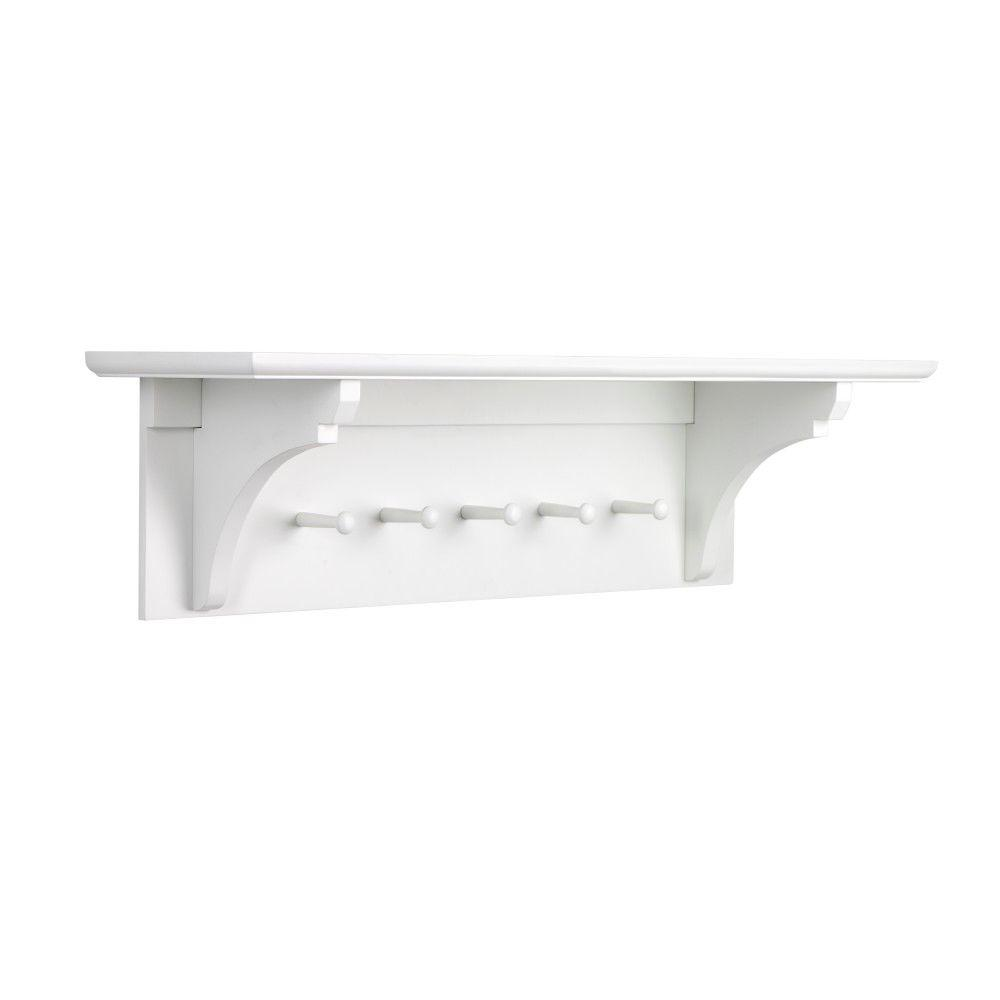 wall hat pamono rack for danish mounted with at modern and shelf coat sale