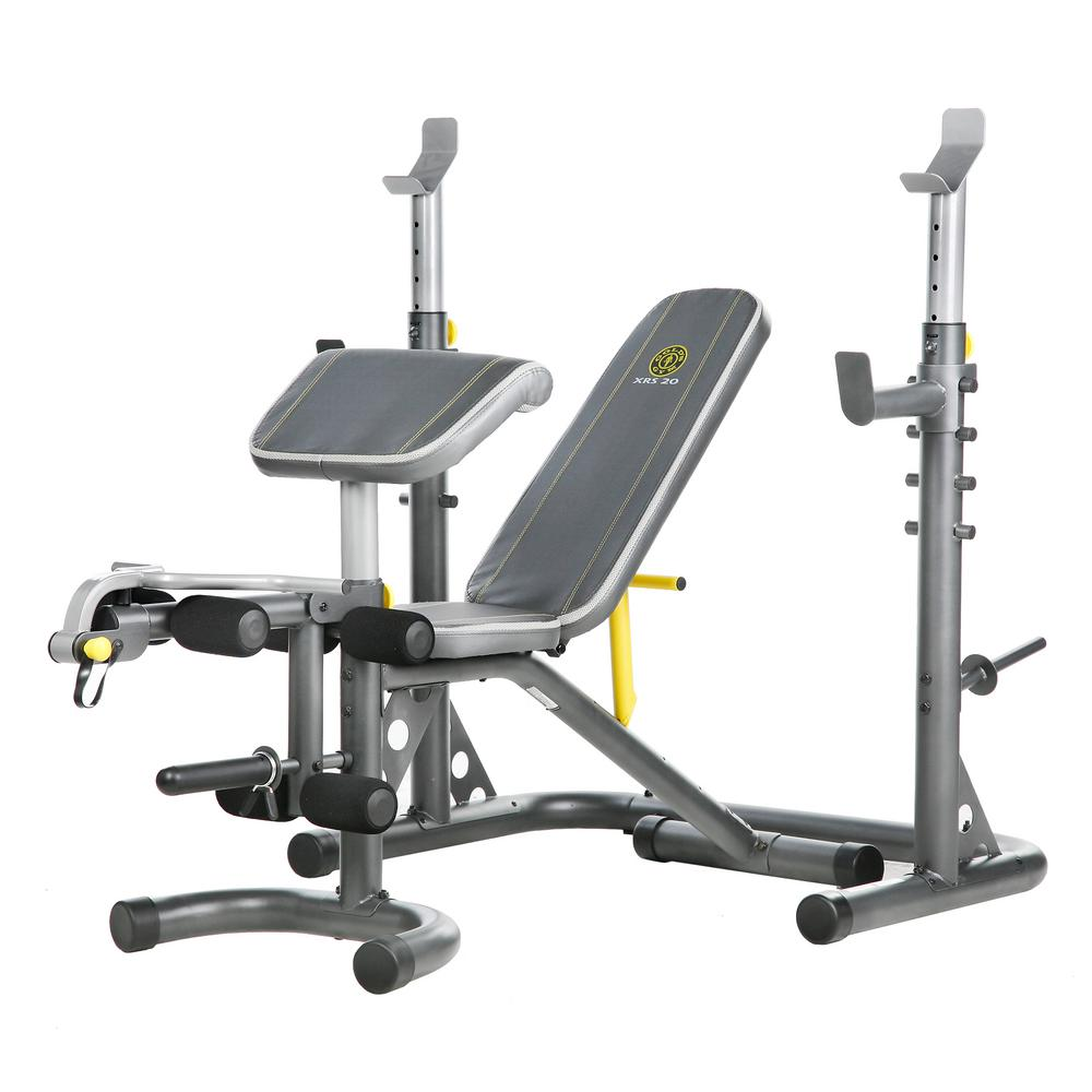 Gold's Gym XRS 20 Rack and Bench