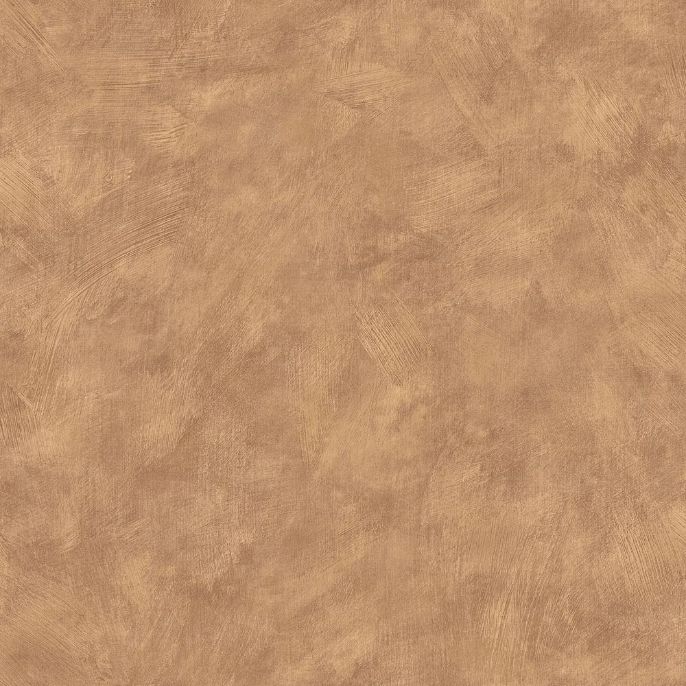 The Wallpaper Company 56 sq. ft. Tan Plaster Wallpaper-DISCONTINUED