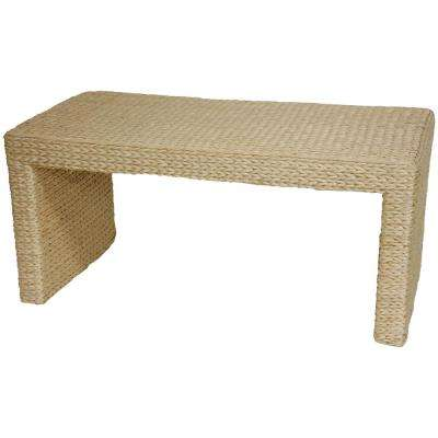 Rush Beige/Tan Grass Coffee Table