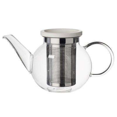 Artesano Hot Beverages 17 oz. Small Teapot with Strainer