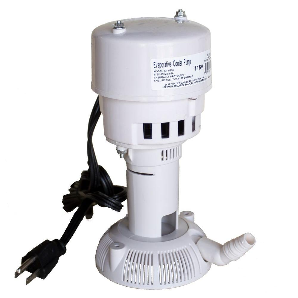115-Volt 60Hz 5500 CFM Evaporative Cooler (Swamp Cooler) Pump