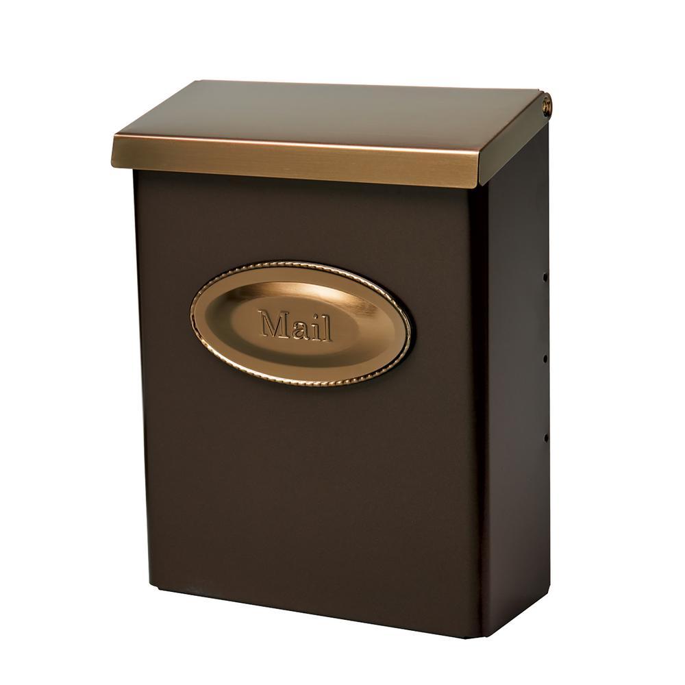 Gibraltar Mailboxes Designer Medium Venetian Bronze
