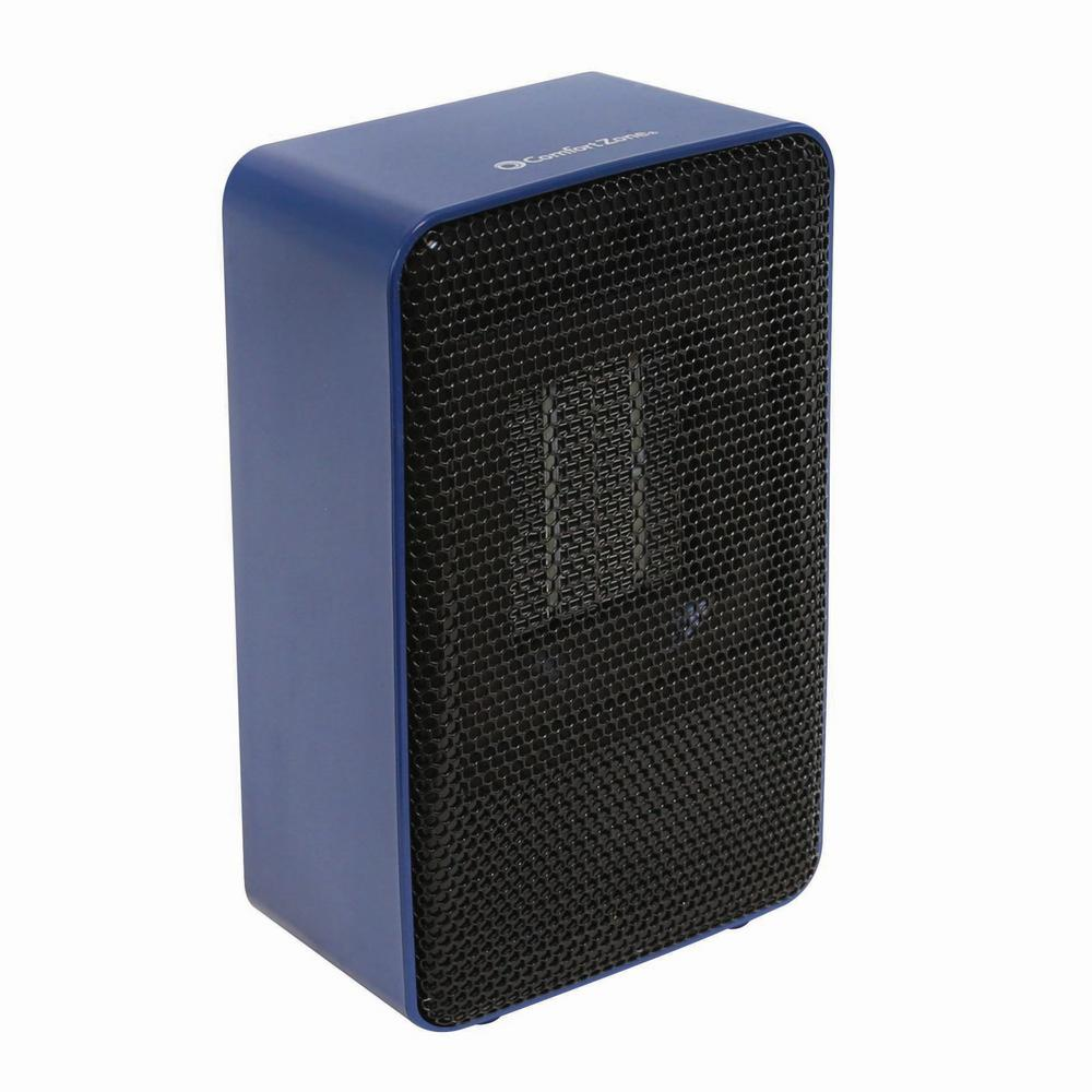 Personal Desktop Ceramic Heater, Blue